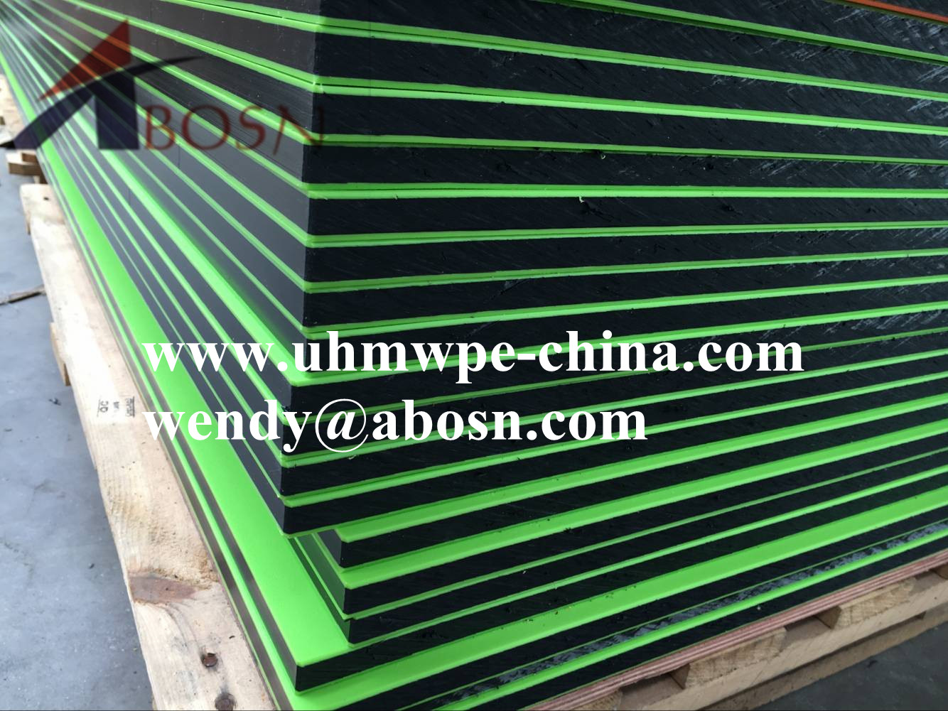 Green-Black HDPE Dual Color Board