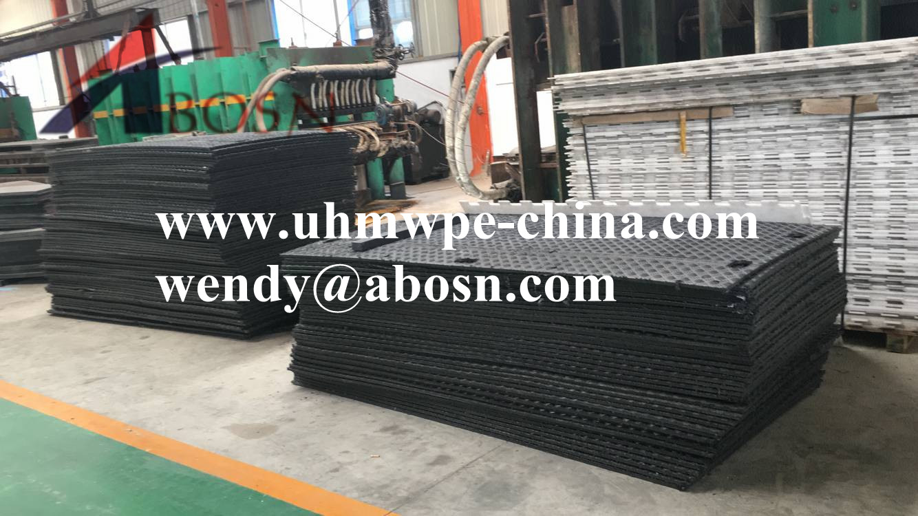 Temporary Road Access Mat for Heavy Equipment