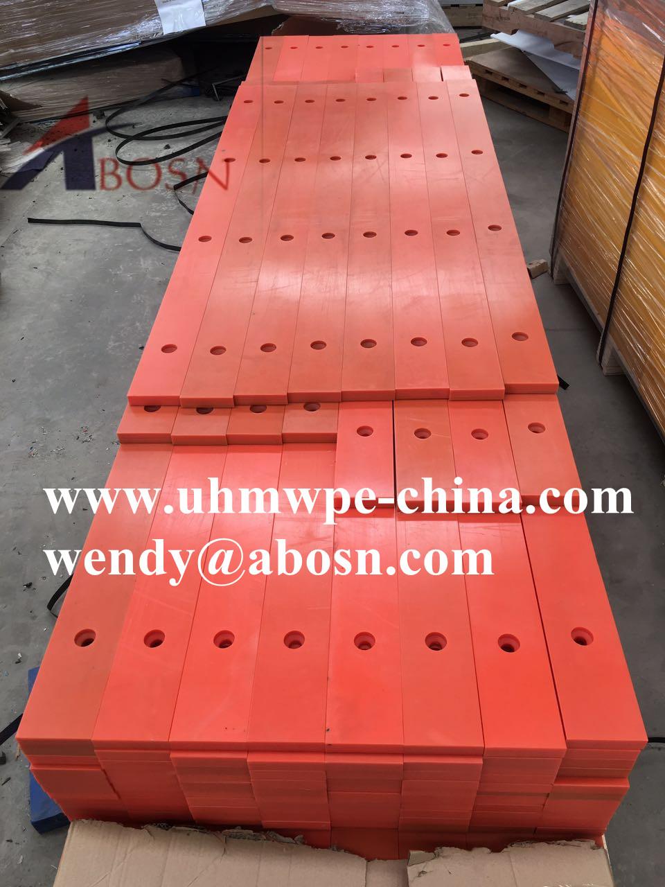 UHMW Nylon Conveyor Wear Strips Profiles