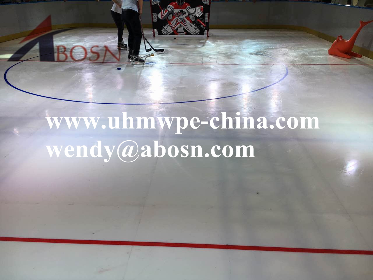 Extreme Glide Mobile Synthetic Ice Rinks for Training