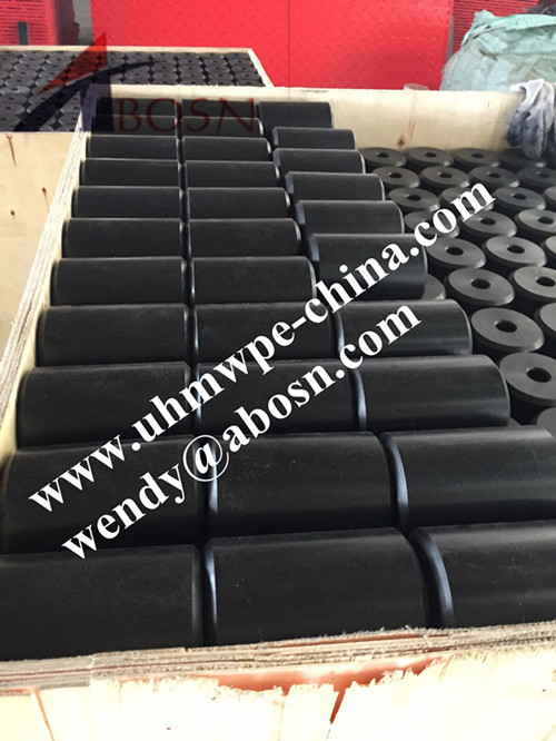 High Wear Resistance Marine UHMWPE Pile Rollers