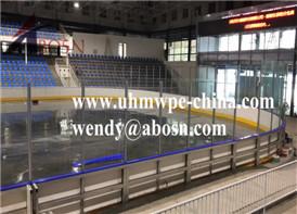 Dasher Board for Hockey Games