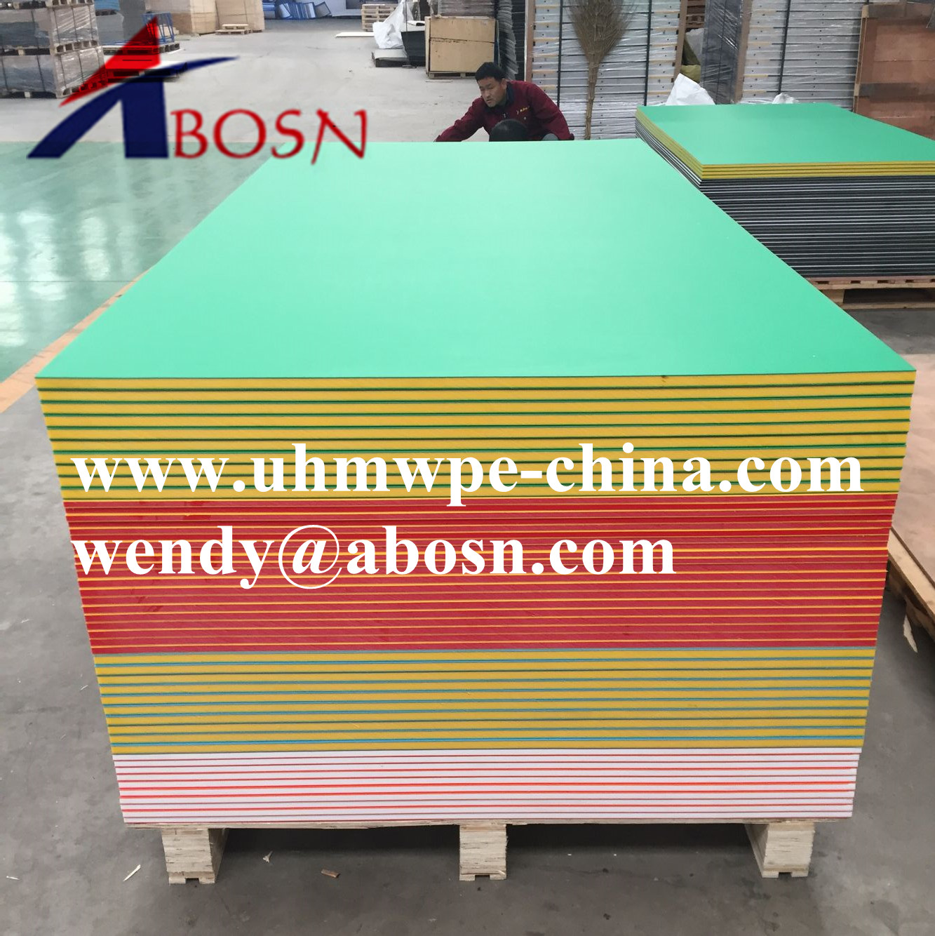 UV Resistance HDPE Color Core Sheet