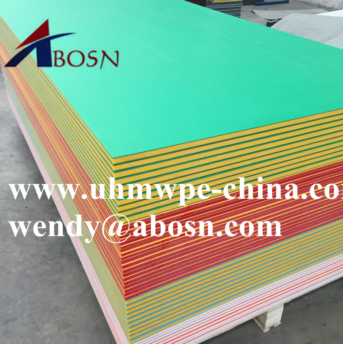 Uv Resistance Hdpe Color Core Sheet Uhmw Pe Bicolor
