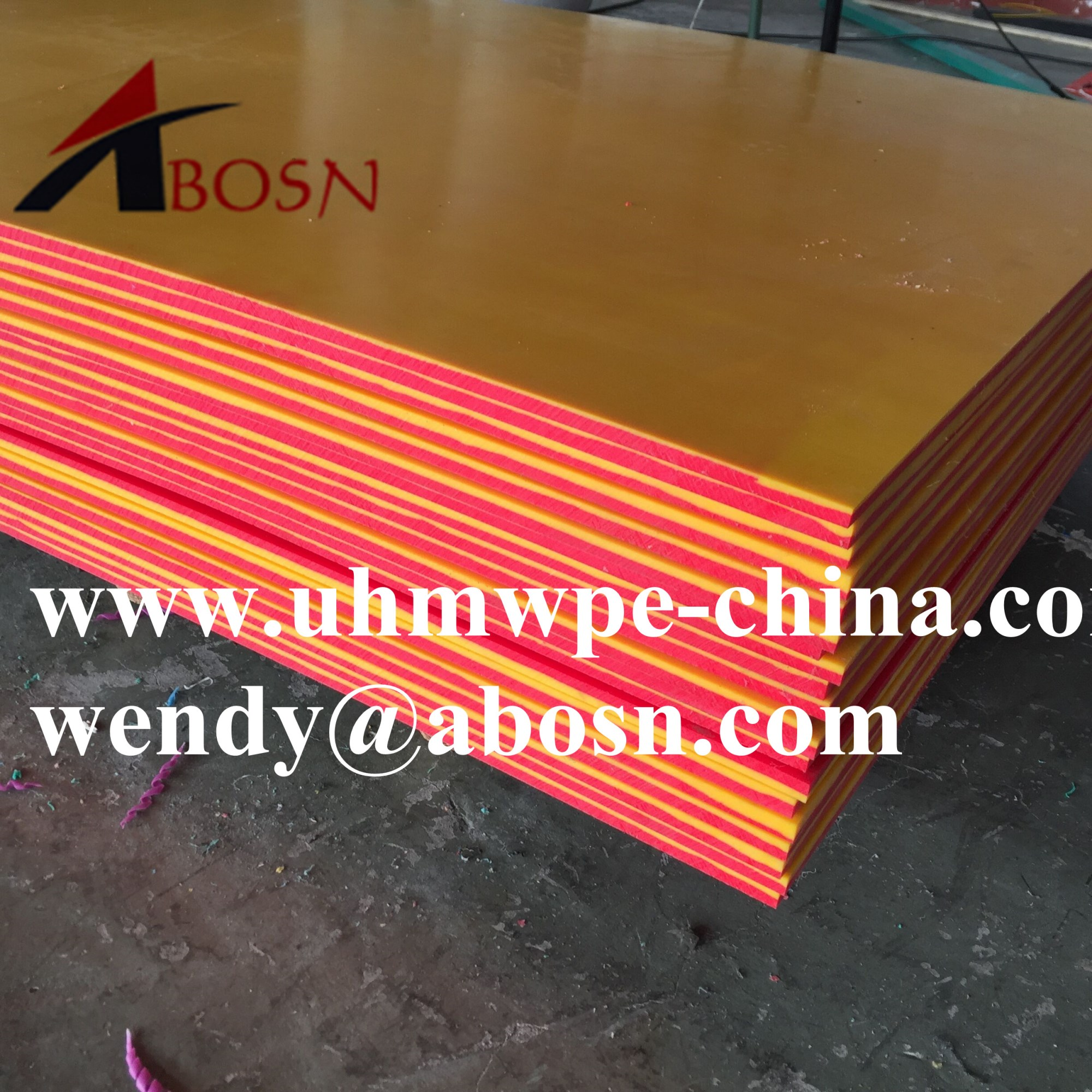 Engineering Double Color UHMWPE Sheet
