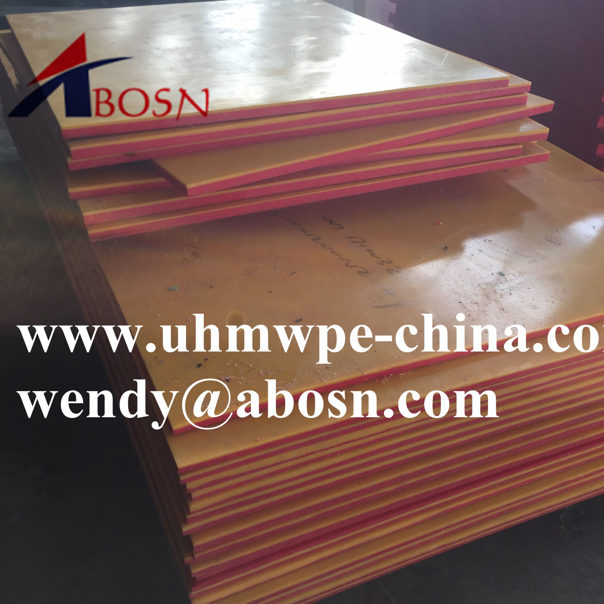 Multi-Fuction Two Layer Dual Colored UHMWPE Sheet