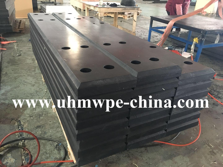 UV Stability UHMW PE Marine Fender Dock Corner Pad