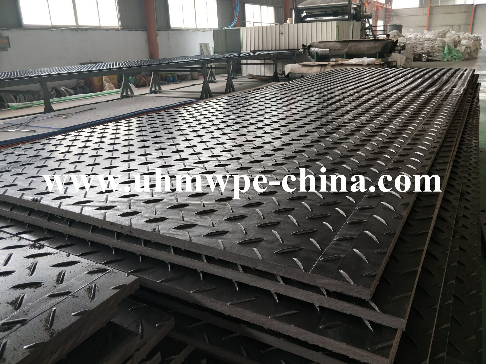 UV Stability Heavy Duty Ground Protection Mat