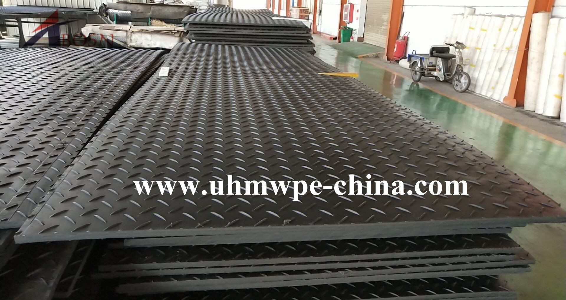Construction Temporary Road Mat for Mine
