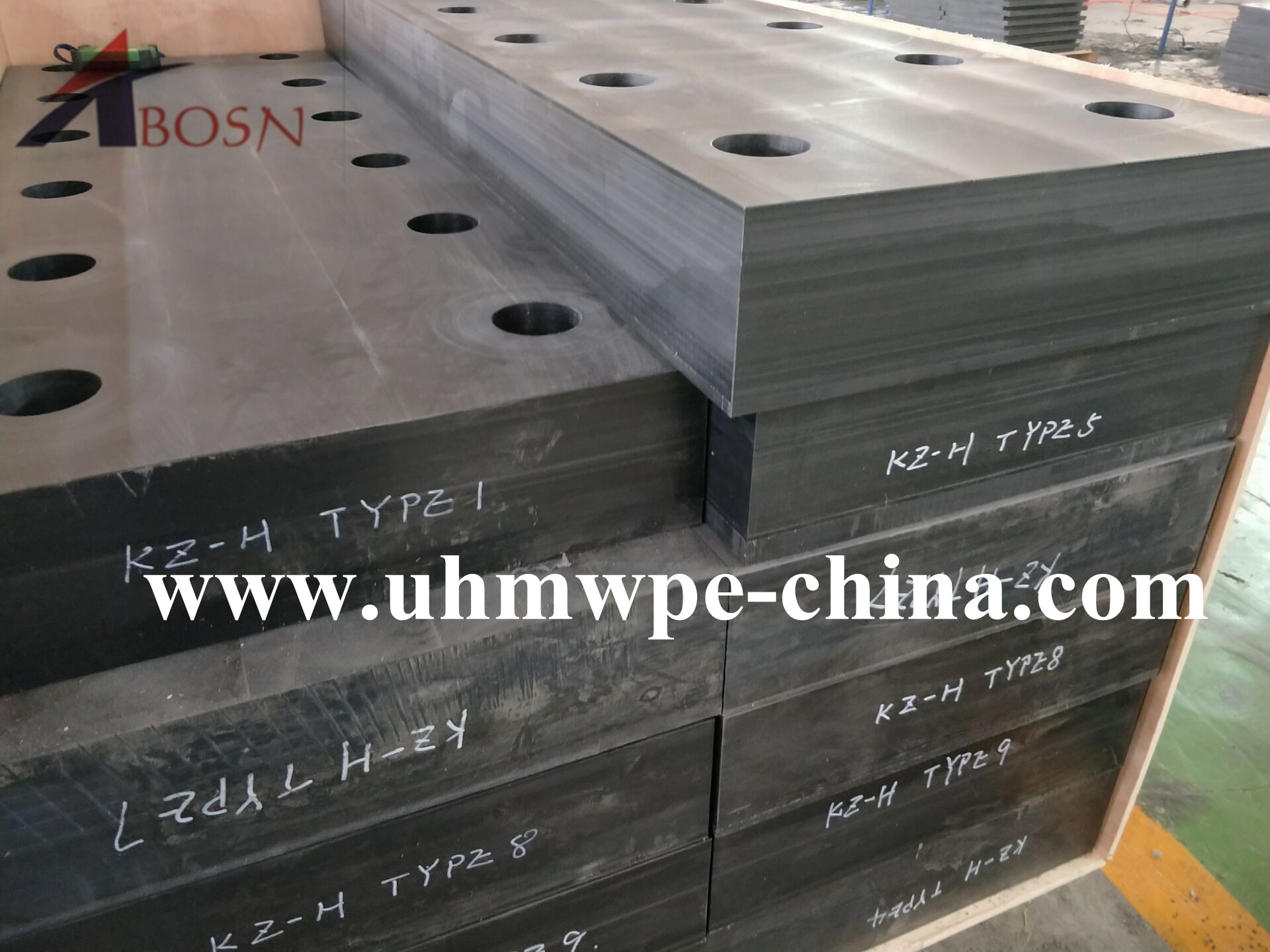 UHMWPE Fender Panel Strip with Chamfers Holes