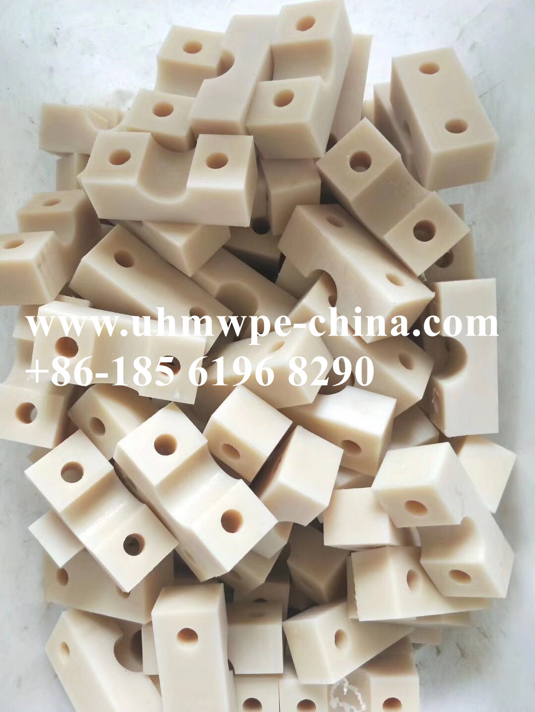 Drawing Customize UHMWPE Machined Component Block