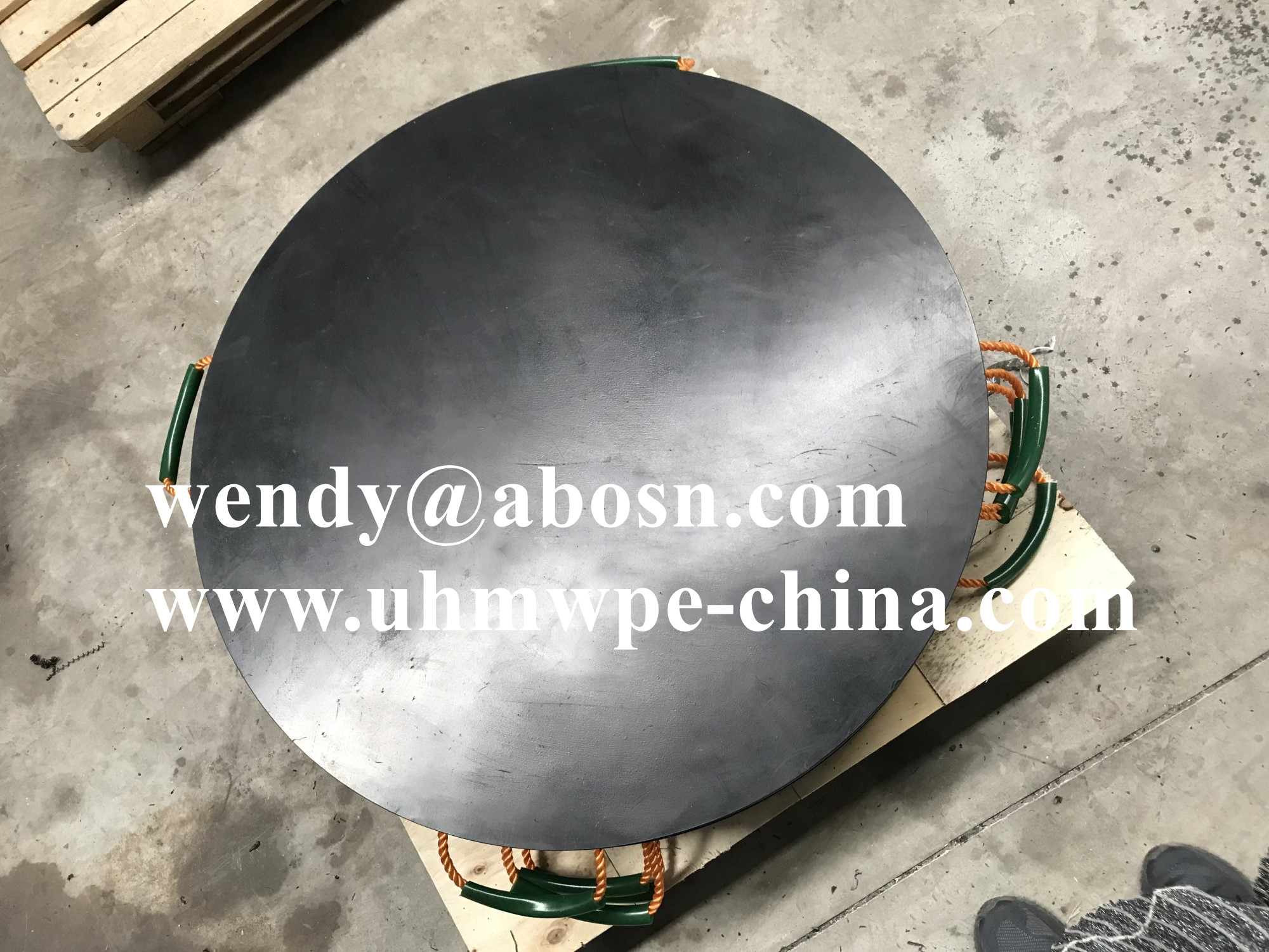 Round Crane Outrigger Pad for Sale