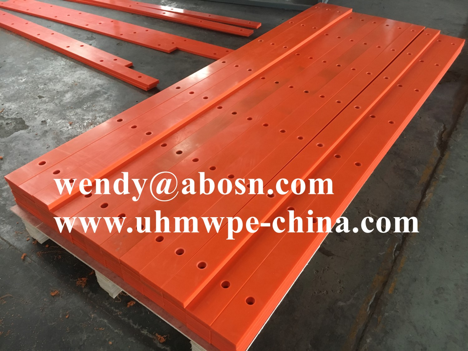 Cane Sugar Mill UHMWPE Wear Strips