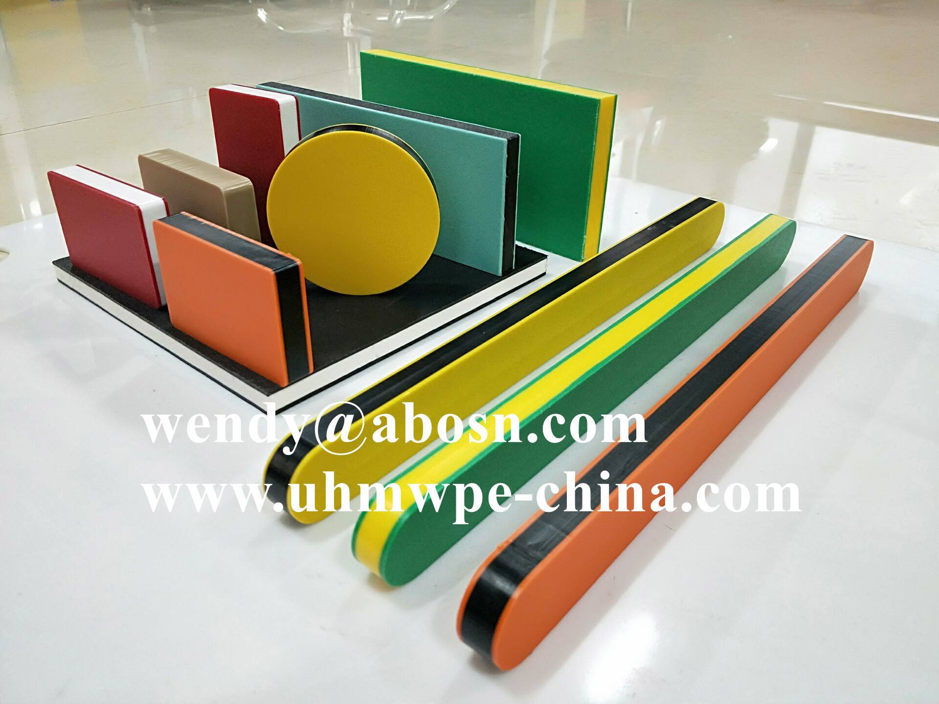 Double Color HDPE Board