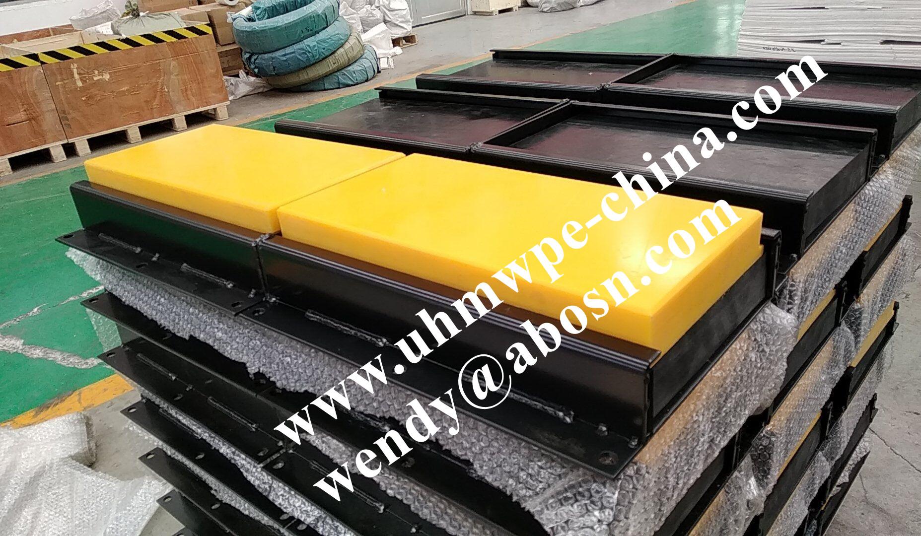 Rubber Plastic Steel Loading Dock Bumper