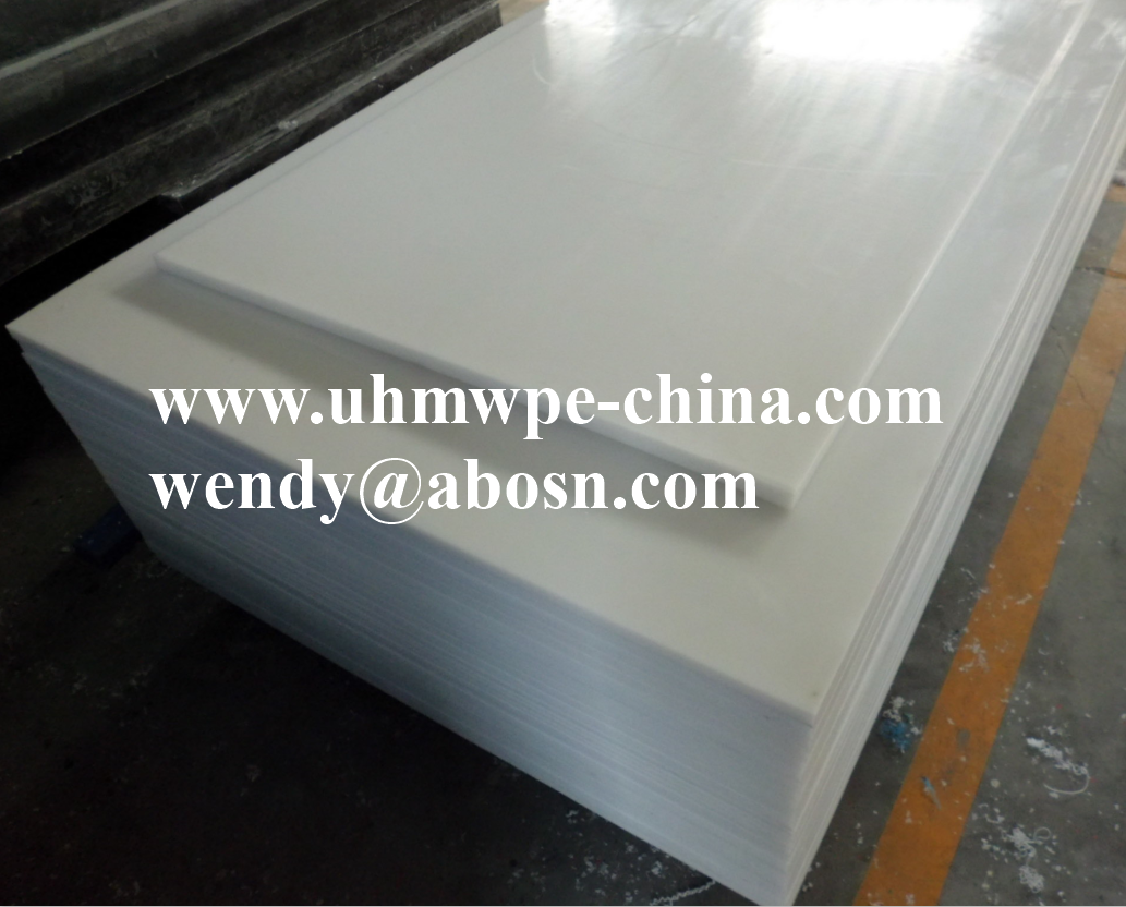 White Virgin UHMWPE 1000 Sheet