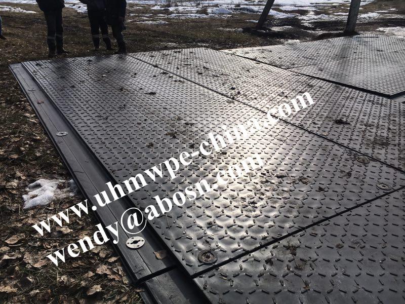 Temporaty Construction Roadway Bog Mat