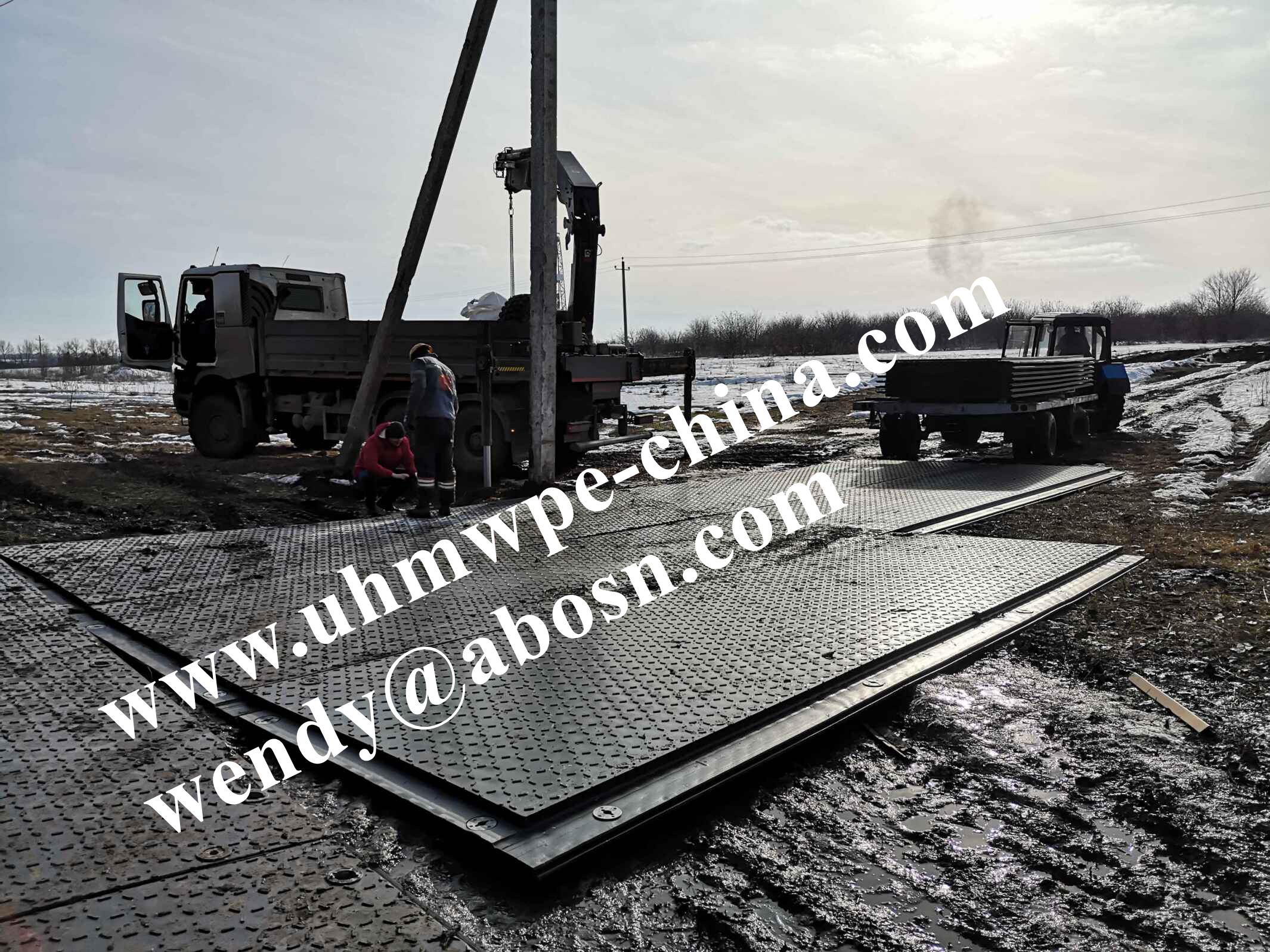 Overlap Composite Temporary Roadways Access Mats