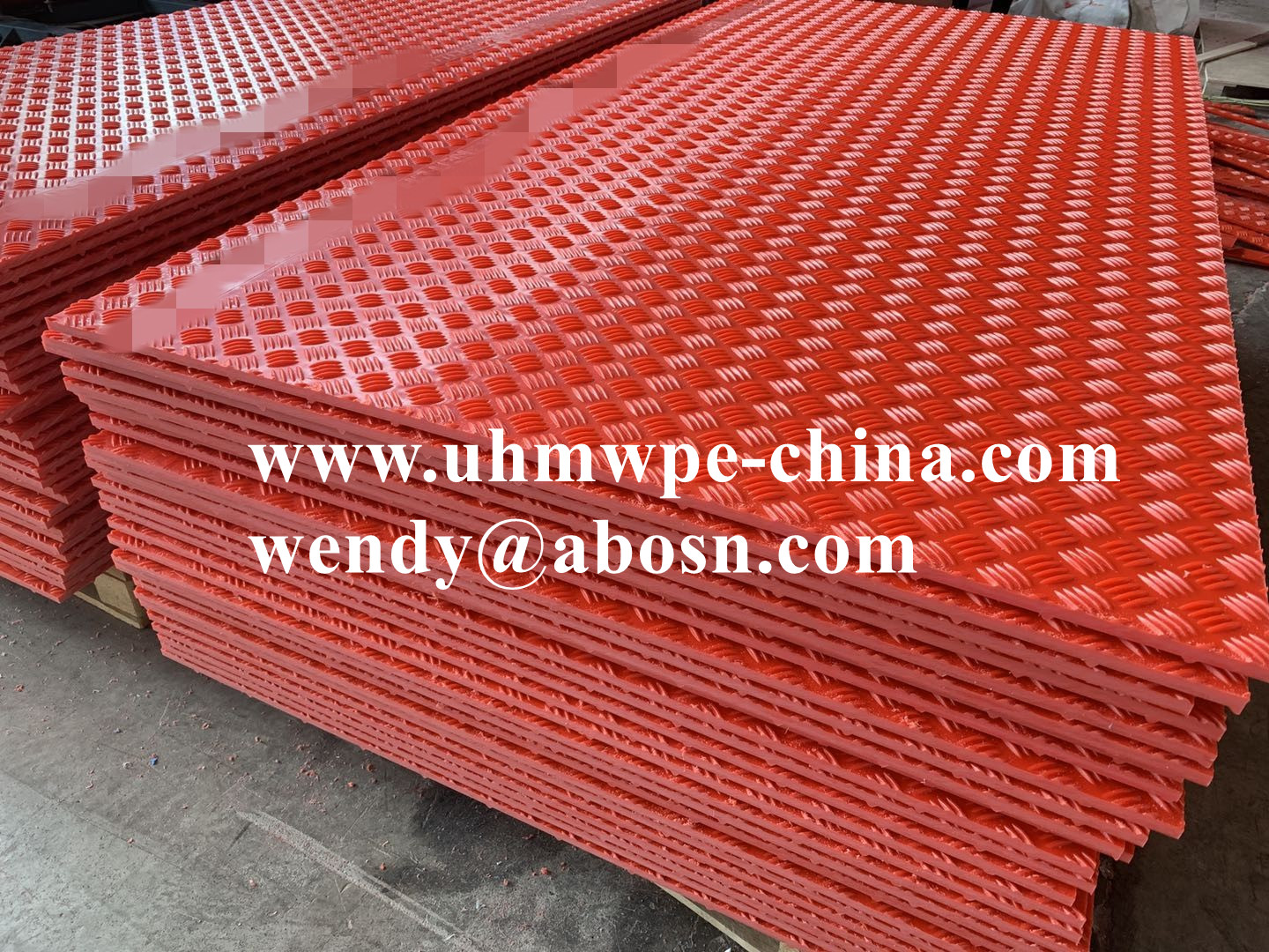 Temporary Composite Heavy Equipment Mud Mats