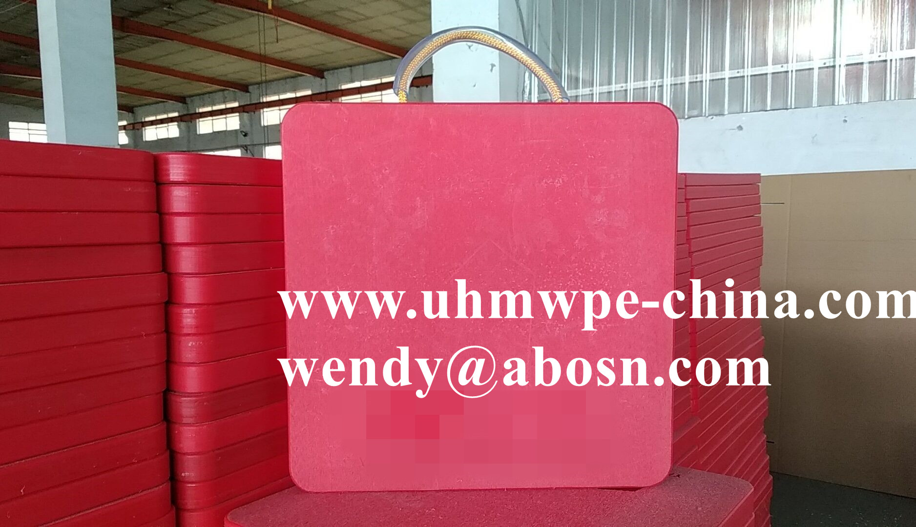 UHMWPE Outrigger Pads | Crane Pads | Plastic Cribbing
