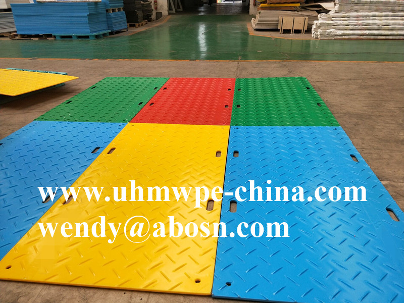 Colorful Event Road Access Mat