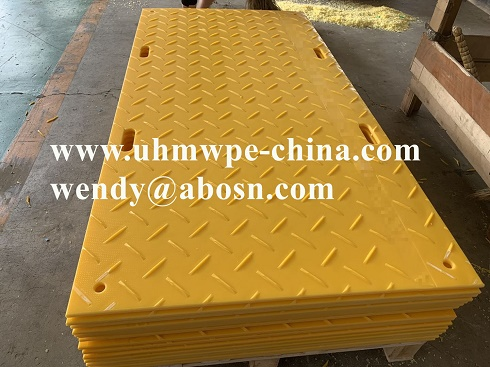 Temprary Heavy Duty Mobile Road Pavements