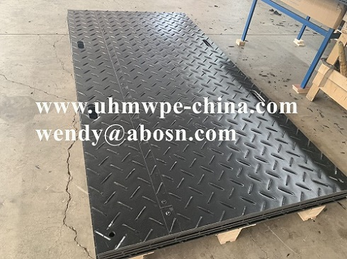 Composite Polymer Mobile Road Plates