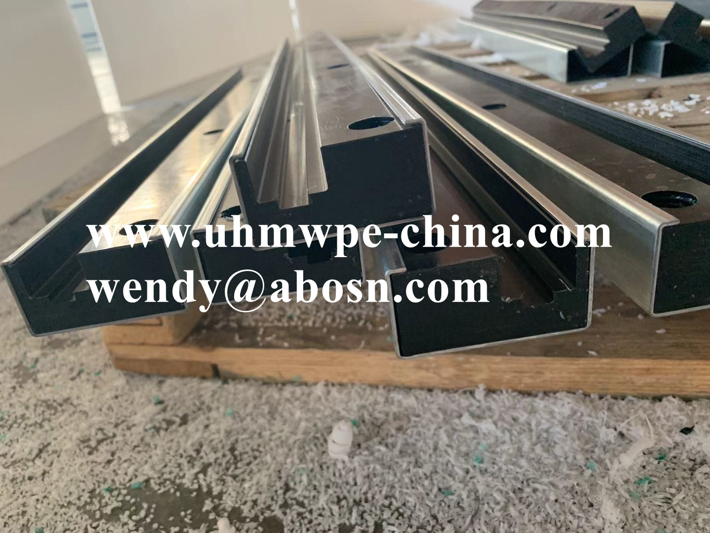 Chain Guide Slide Rail Profile with Steel
