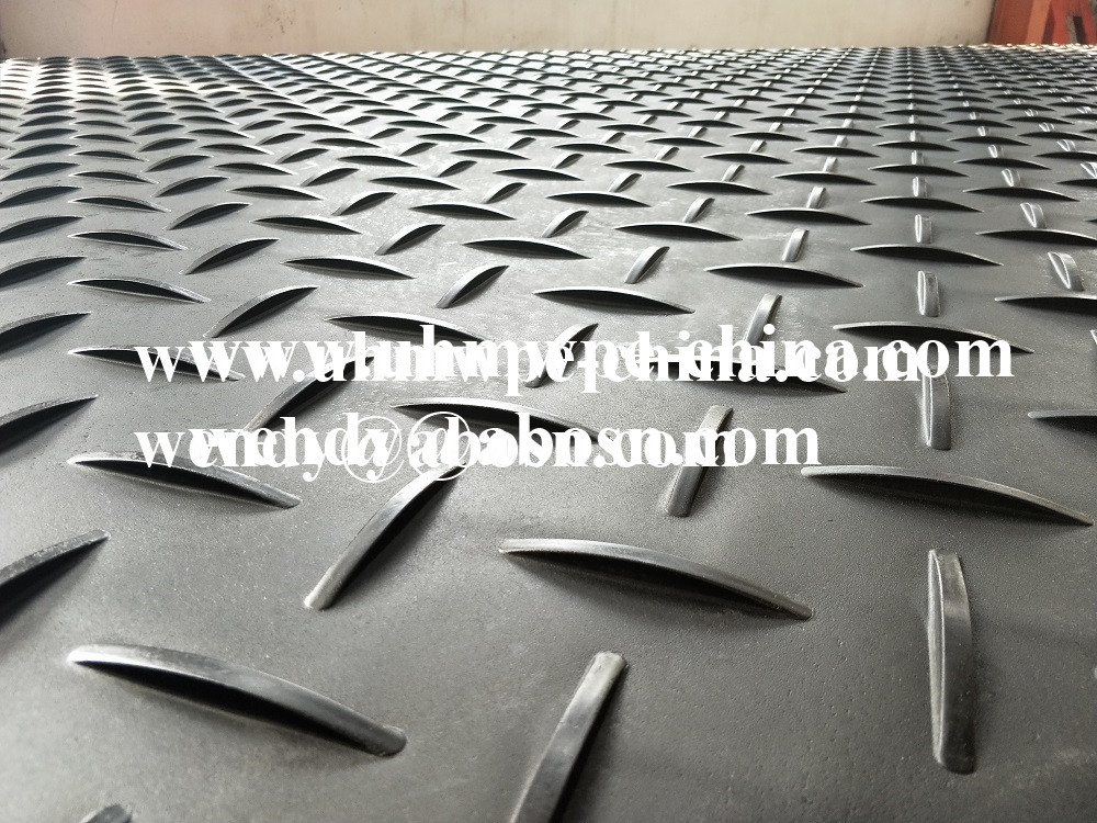 New Diamond Plate Tread Landscaping Construction Roadway Mat