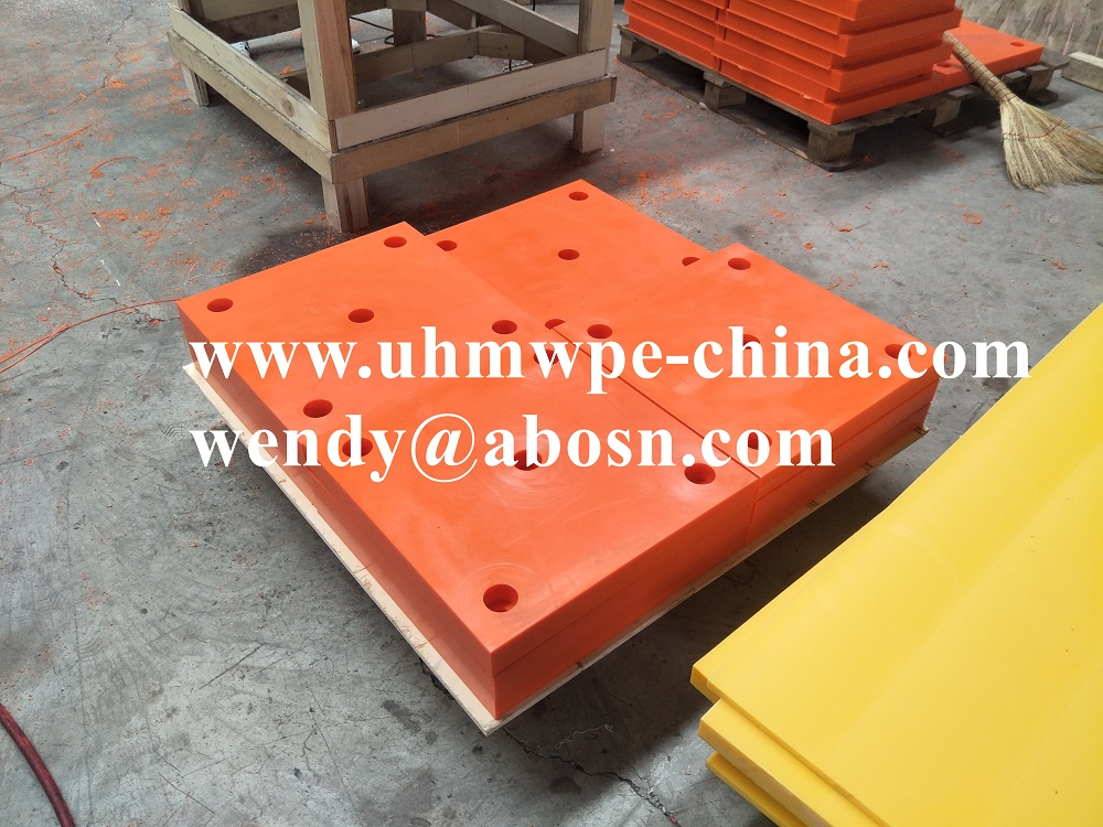 UHMWPE Fender Face Plate Pad