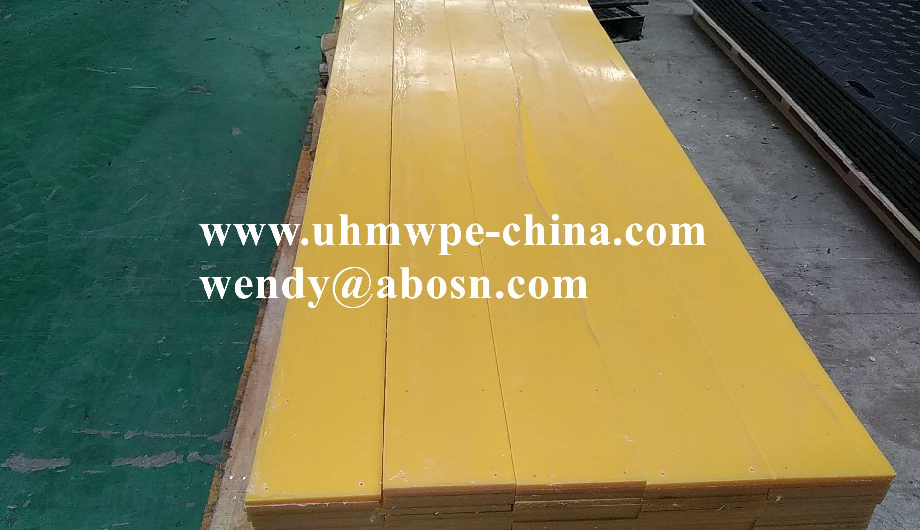 High Density Polyethylene HDPE Puck Board Sheet