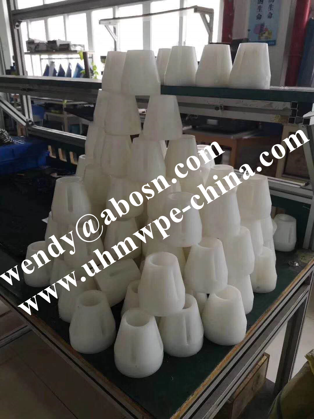 Plastic Tip Cone Face Mask Machine Part