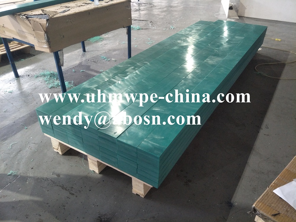 UHMW Polyethylene Plastic Conveyor Wear Strips Profile