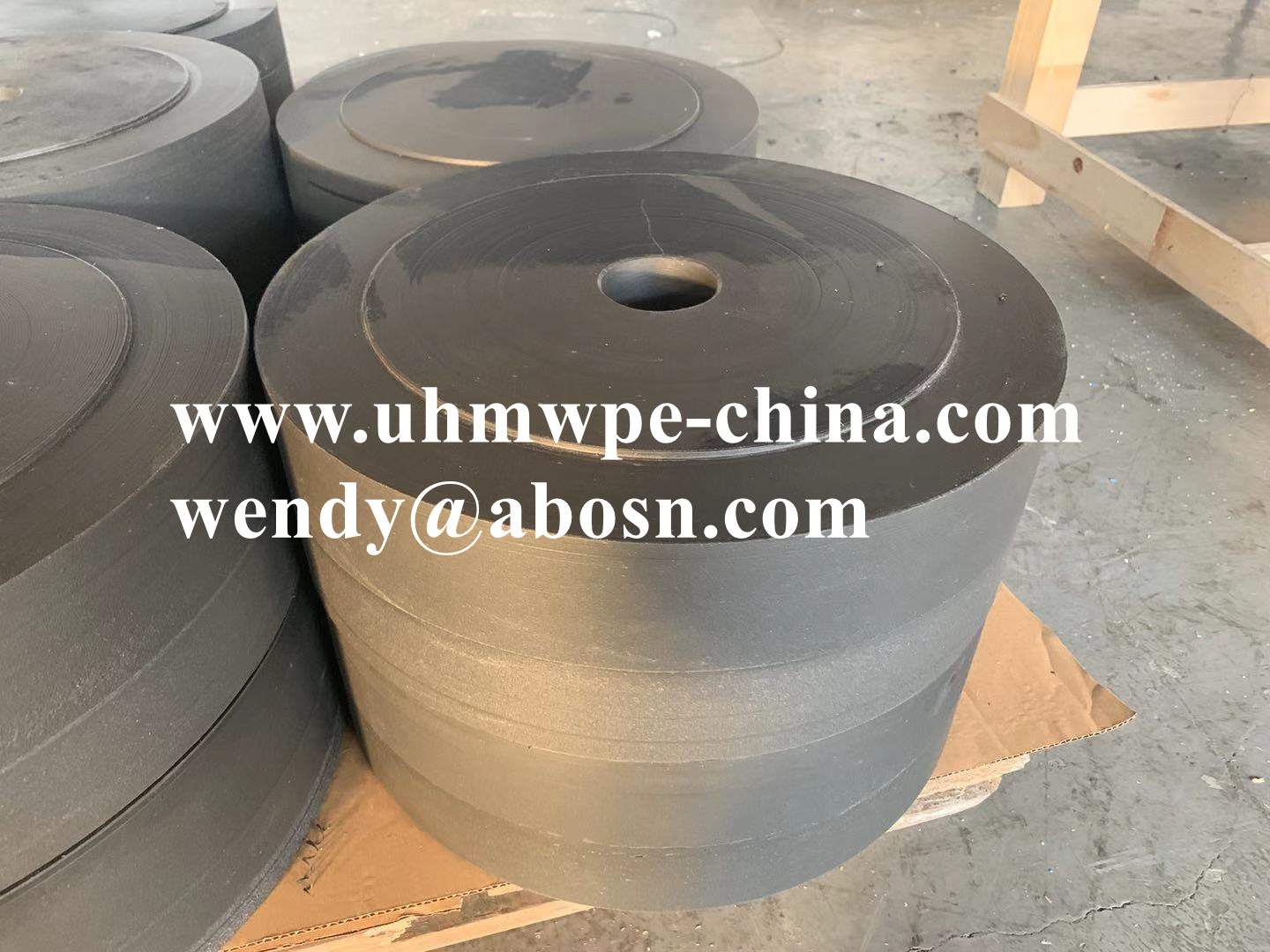 Cut to Size Engineering UHMW PE Plastic Component