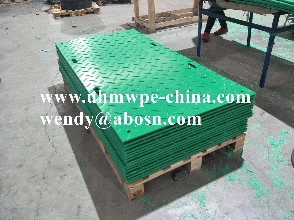 Construction Temporary Mat Plastic Road Plates