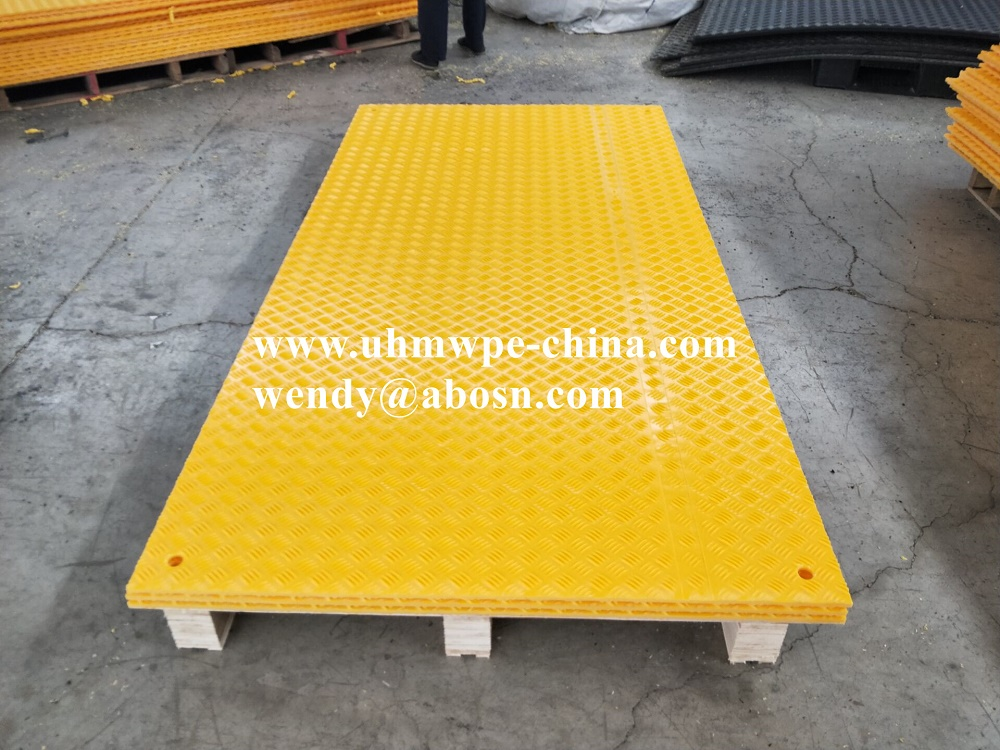 Composite Temporary Road Access Mats For Construction Equipment