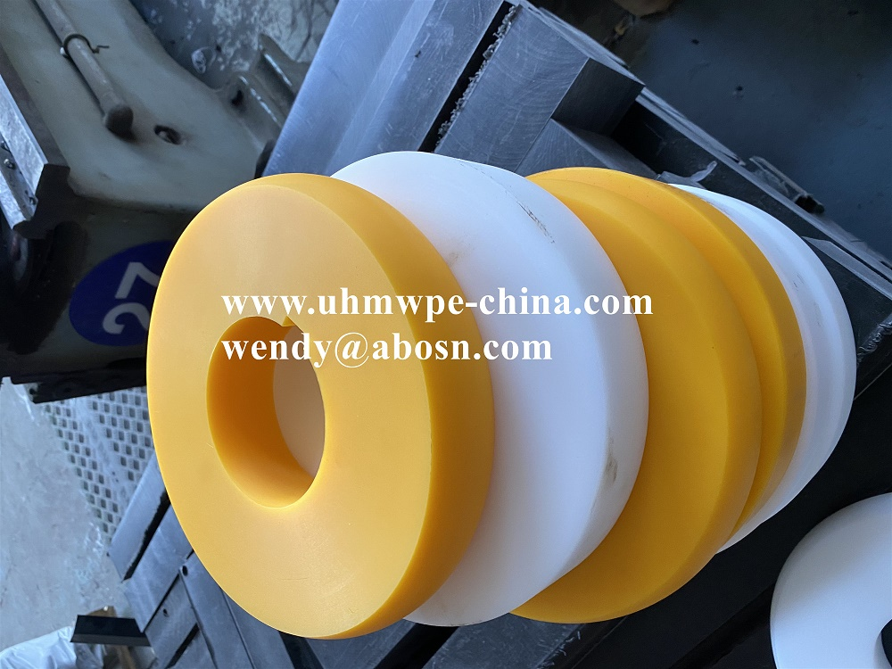 Custom Polyethylene Plastic Pulley Wheel
