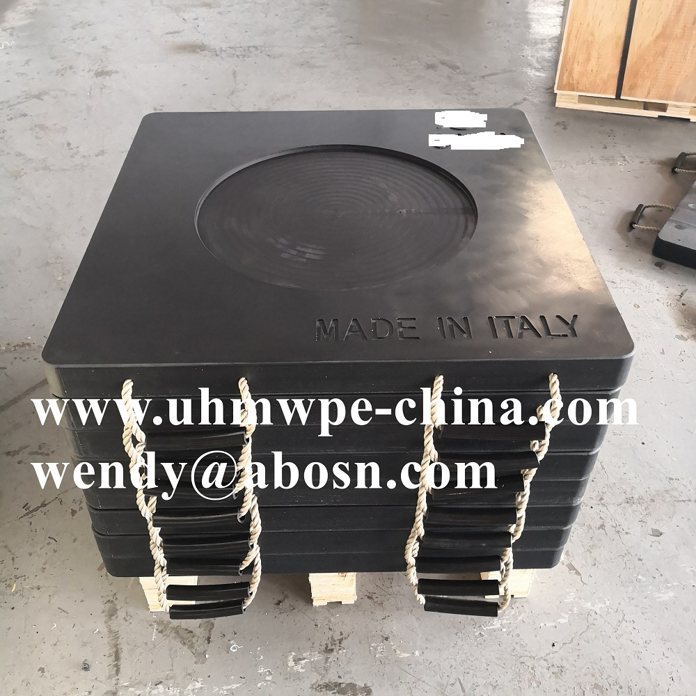 Customized HDPE Safety Crane Outrigger Pad