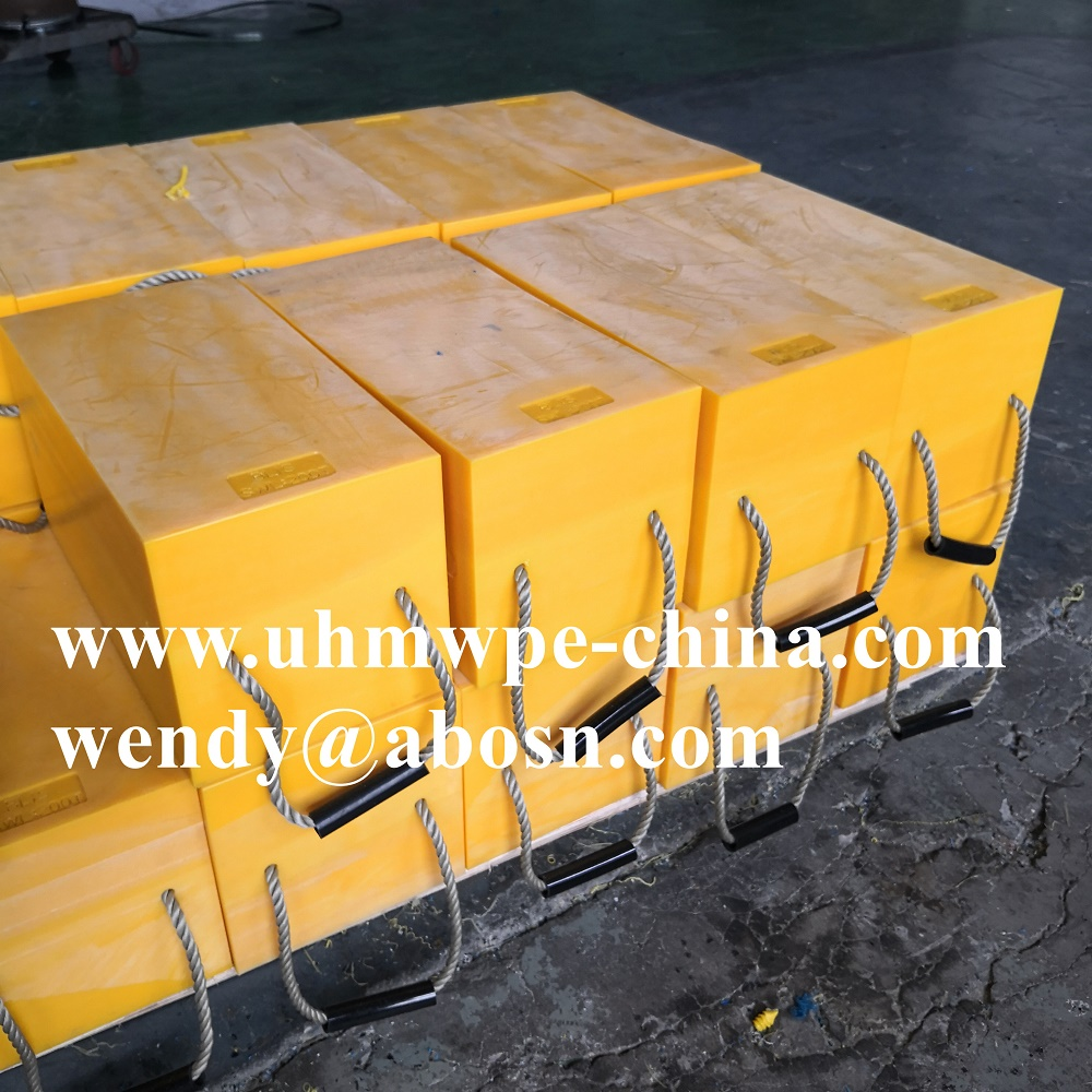 Mobile PE Stackable Cribbing Jacking Block