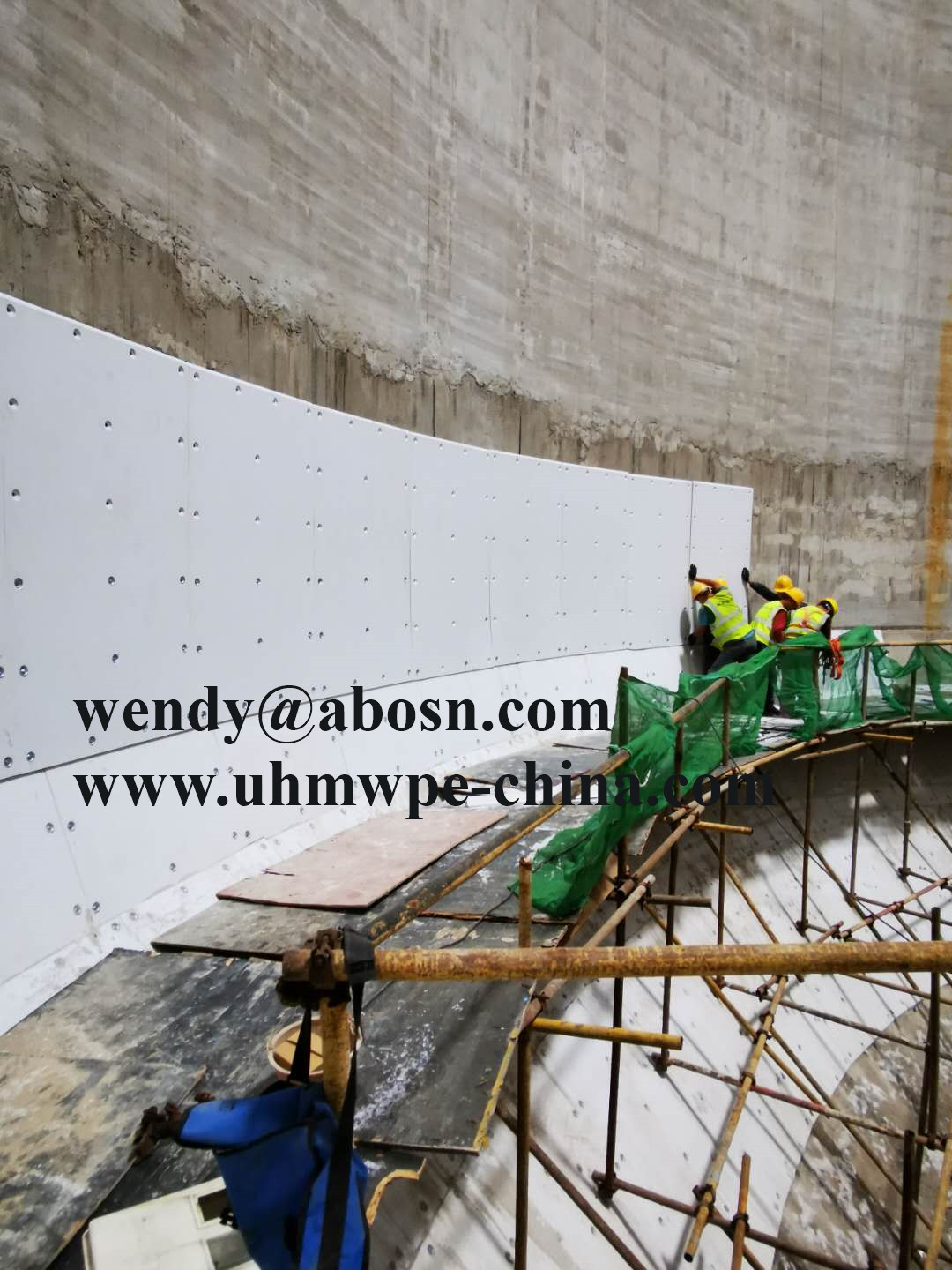 100 Sets ABOSN UHMWPE Bunker Lining Completed