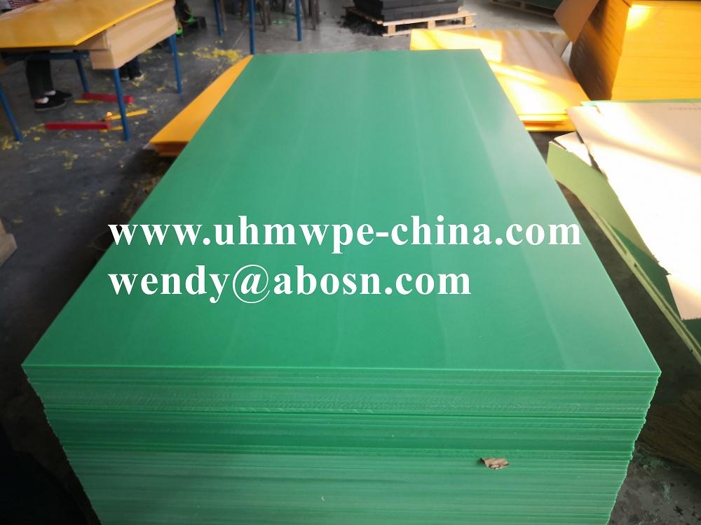 Green Wear Resistance UHMWPE Sheet