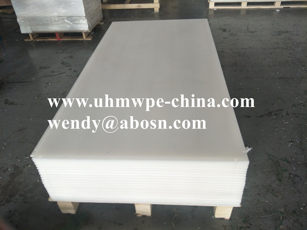 Natural UHMW Polyethylene Sheets
