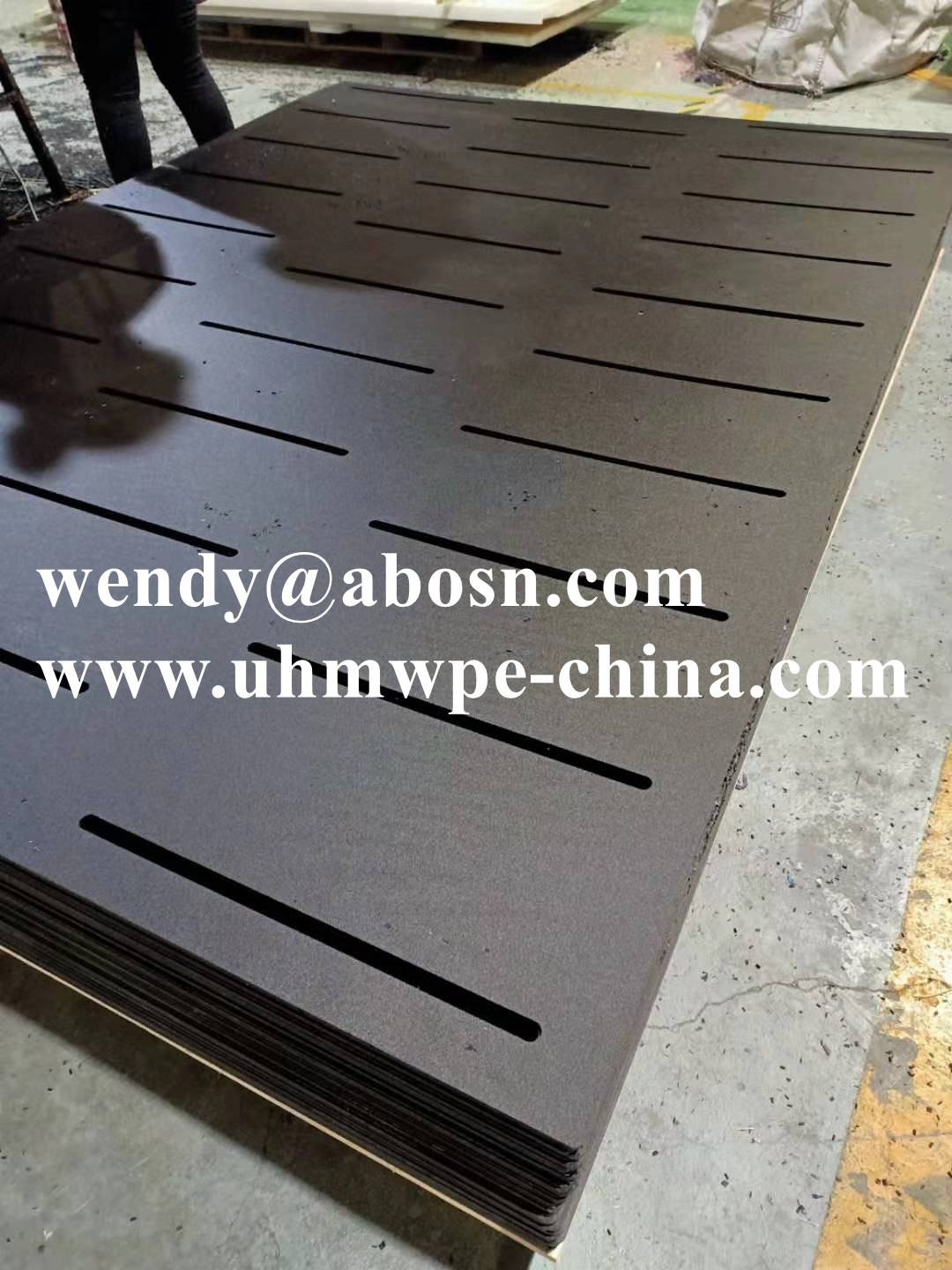 Anti-slip Grooved HDPE Farm Manure Leak Filter Plate for Cow Pig Breeding