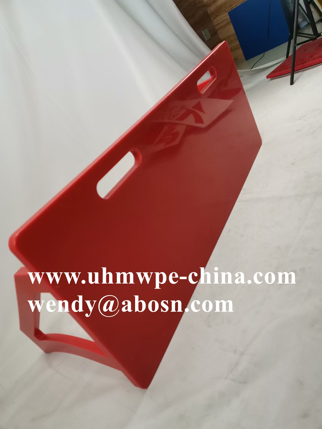 Bright Red Color Football Rebounder Board